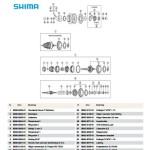 Sprängskiss Shimano nexus 7